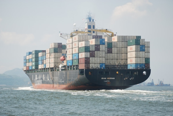 international shipping of containers from Boston MA