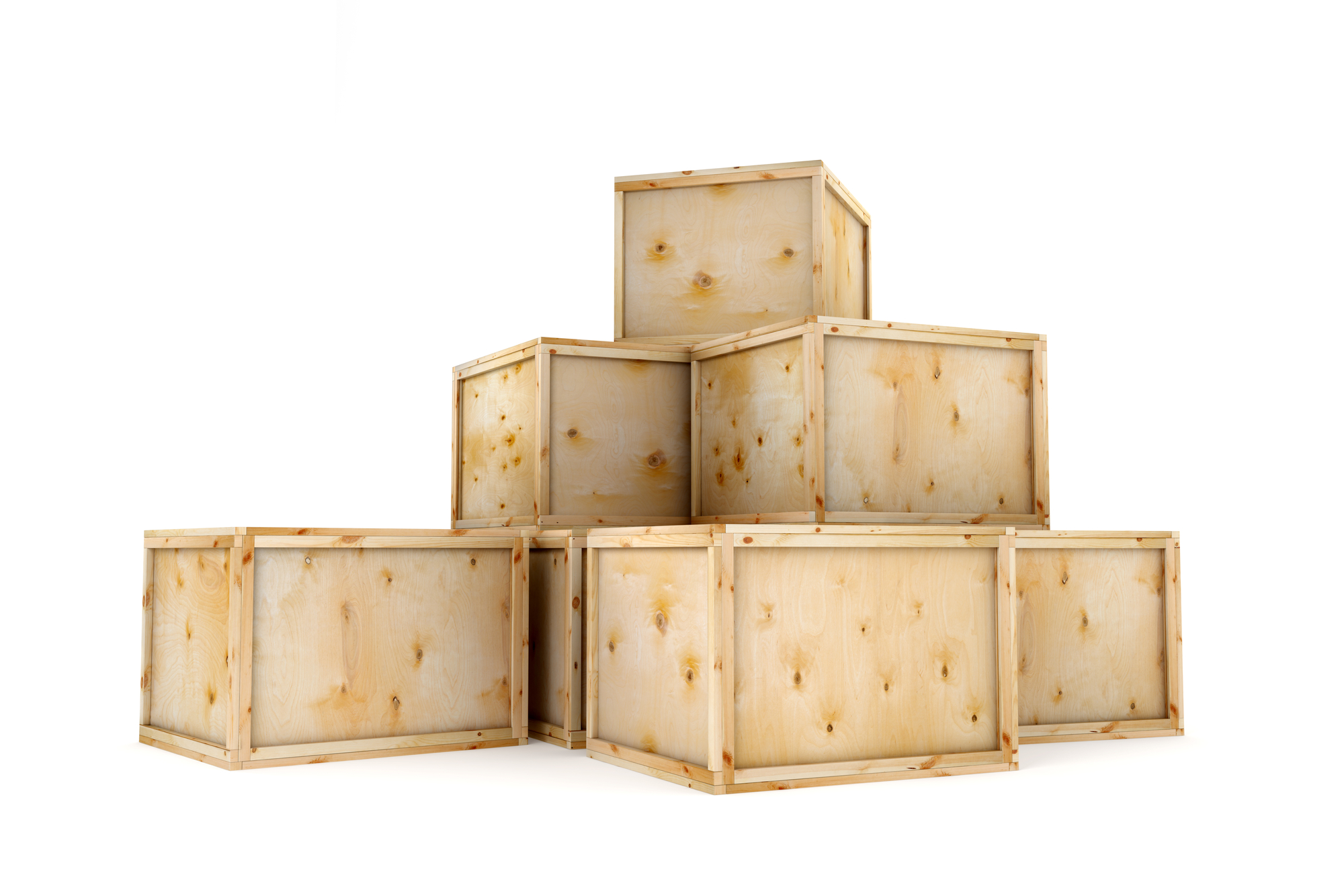 Ship Wooden crates