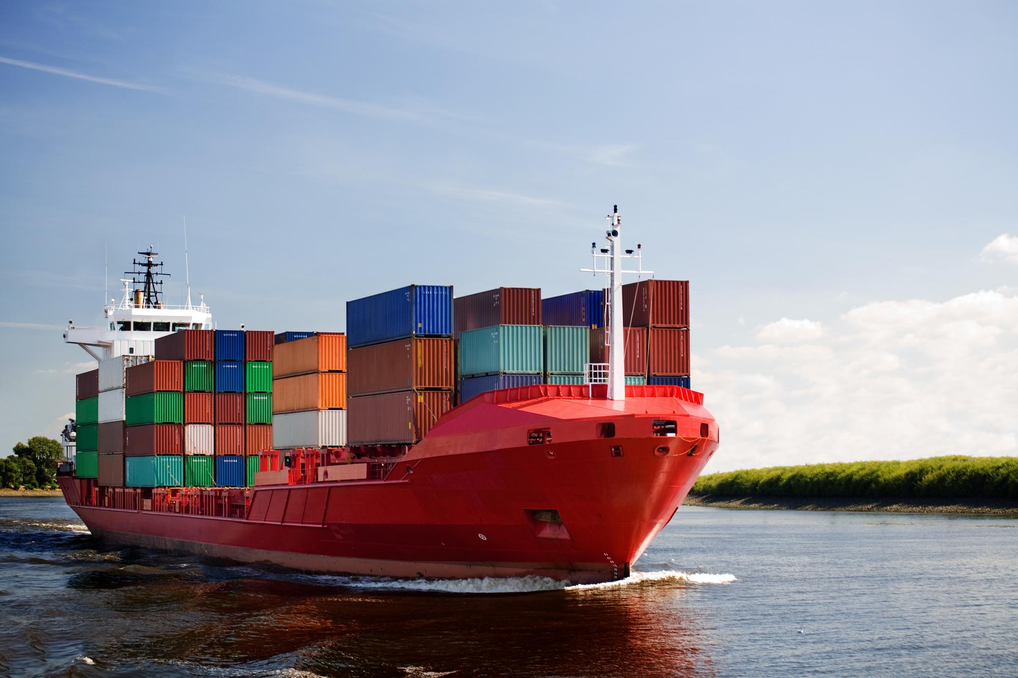 Ocean Cargo Container Boston MA