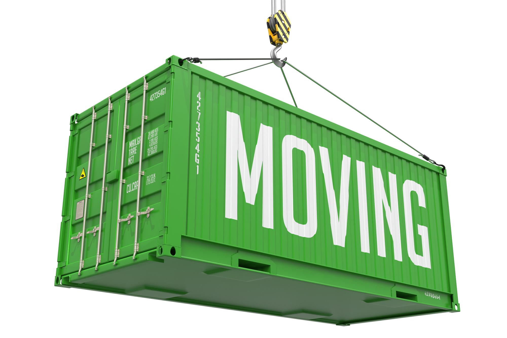 Moving Container Boston MA