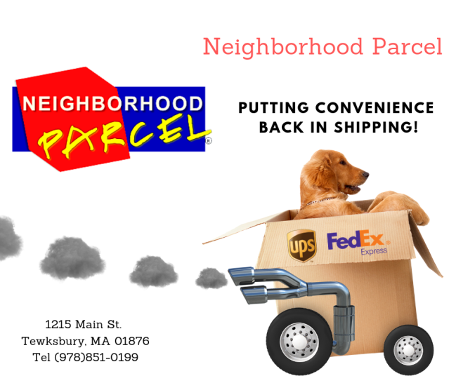 neighborhood parcel shipping Company In Boston MA