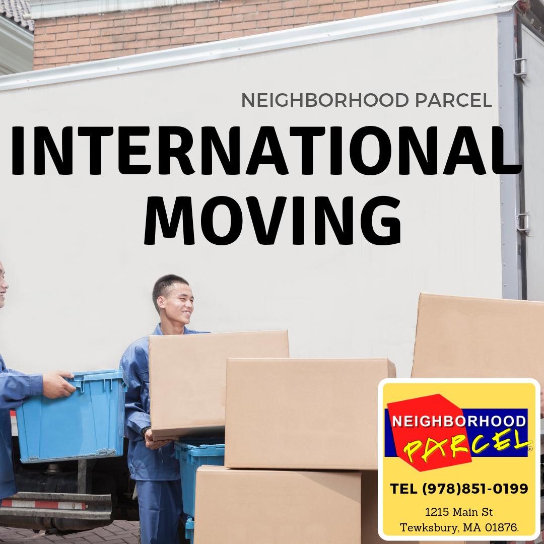 international movers Boston ma