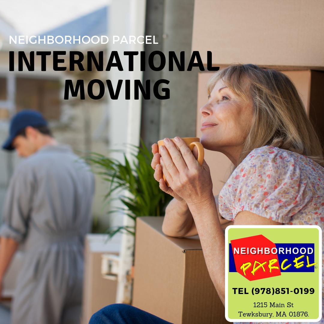 international moving Boston MA