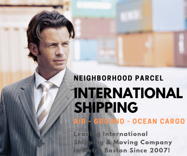 international shipping service company in Boston ma